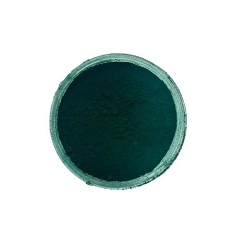 هر قوطی شامل ۱۰ گرم از رنگ پودری سبز یشمی است