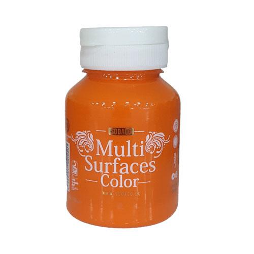 رنگ مولتی سورفیس مرجانی,ضد آب,ضد حرارت,در بسته بندی 125 میل
