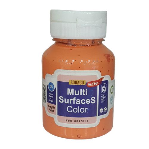 رنگی مولتی سرفیس  در برار حرارت مقاوم هستند و نیازی به تثبیت کننده ندارند.برند سوداکو