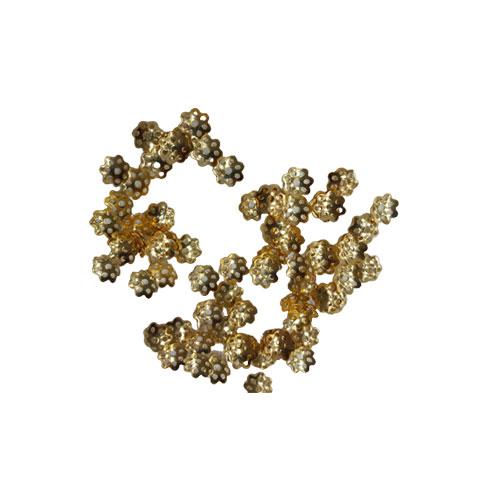 بسته ی مورد نظر شامل 10 عدد کاسبرگ طلایی سایز 7 میل می باشد.
